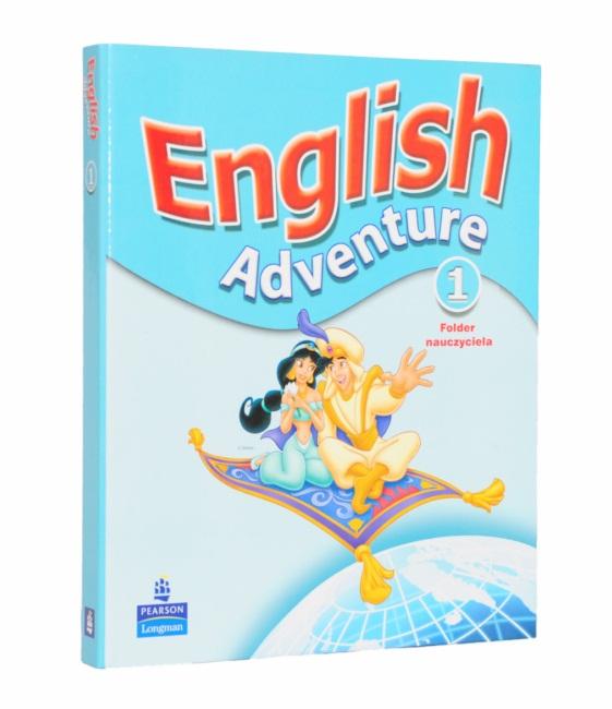 Teczki reklamowe English Adventure