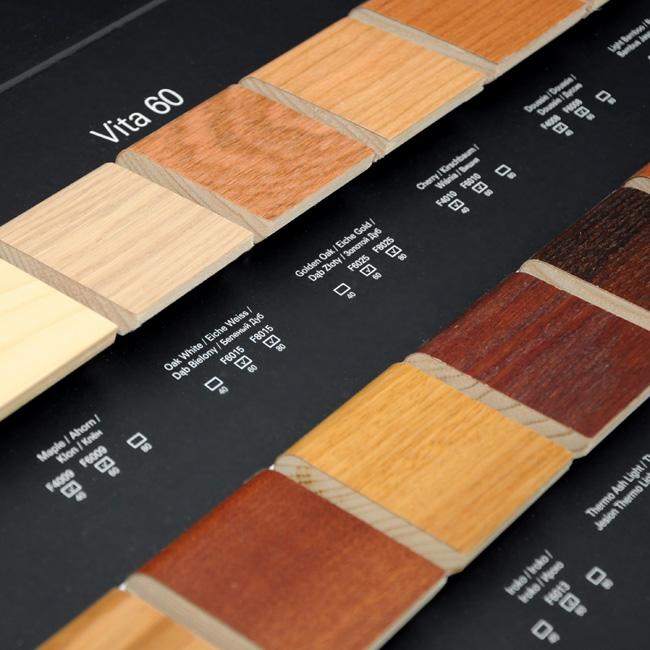 Wzorniki reklamowe na próbki drewna