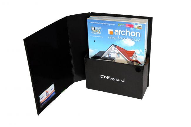 Pudełka reklamowe na katalogi
