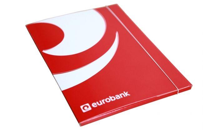 Teczka ofertowa na gumkę EUROBANK