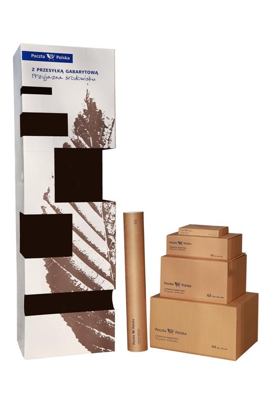 Stend display reklamowy poczta