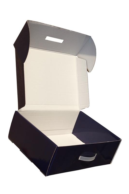 Pudełko kartonowe z rączką