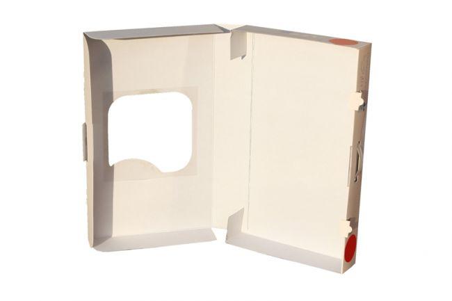Pudełko reklamowe z okienkiem