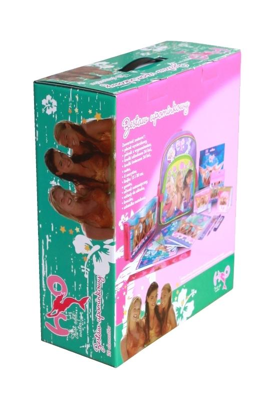 Pudełko reklamowe na zabawki