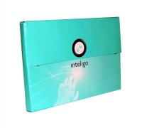 Teczka reklamowa Inteligo