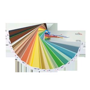 Wzorniki listkowe kolorów